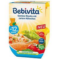 Bebivita Duo Gemüse-Risotto mit zartem Hühnchen - Овощное ризотто с нежным цыпленком, с 12 месяцев, 500 г