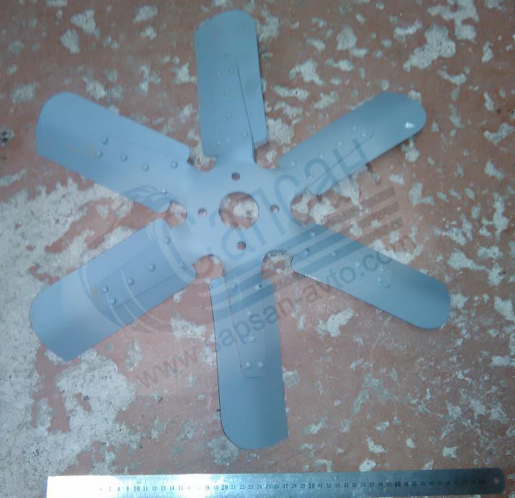 Крыльчатка вентилятора ЯМЗ-238. 238-1308012-А4