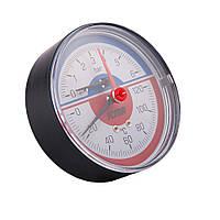 Термоманометр Icma горизонтальный, арт. № 259