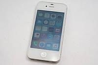Apple iPhone 4S 8GB White Unlock R-sim Лот№916 сост. 8/10