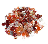 Камни для декора Сердолик (12-30 мм) 100 грамм