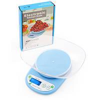 Весы кухонные QZ-161A, 5кг (1г) с чашей