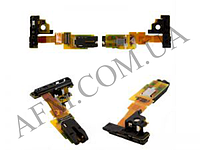 Шлейф (Flat cable) Sony C5502 M36h Xperia ZR/  C5503 с разъемом наушников,   датчиком приближения