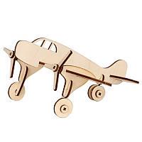 Сборная деревянная модель Бомбардировщик маленький