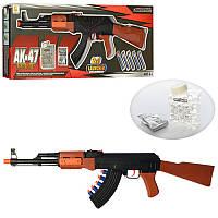 Игрушка Автомат АК - 47 с водяными пулями 610A