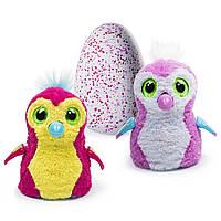 Интерактивная игрушка Spin Master Zoomer Hatchimals Пингви в яйце Розовый/желтый
