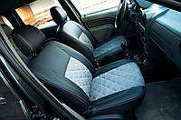 """Модельные чехлы Dacia Logan MCV / Дача Логан """"Алькантара"""", фото 1"""