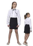"""Юбка детская школьная м-1091 рост 116 и 146 черная. Последние размеры на складе! тм """"Попелюшка"""", фото 1"""