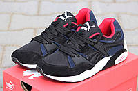 Кроссовки Puma (черный с серым)