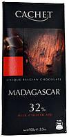 Шоколад молочный CACHET Madagascar 100г.