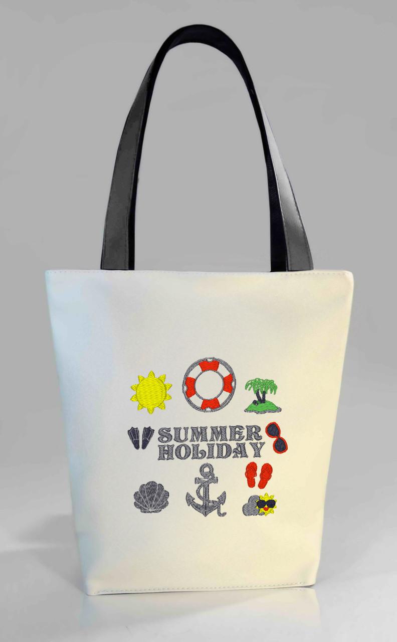 """Женская сумка """"Summer holiday/ Летние каникулы"""" Б374 цвет на выбор"""