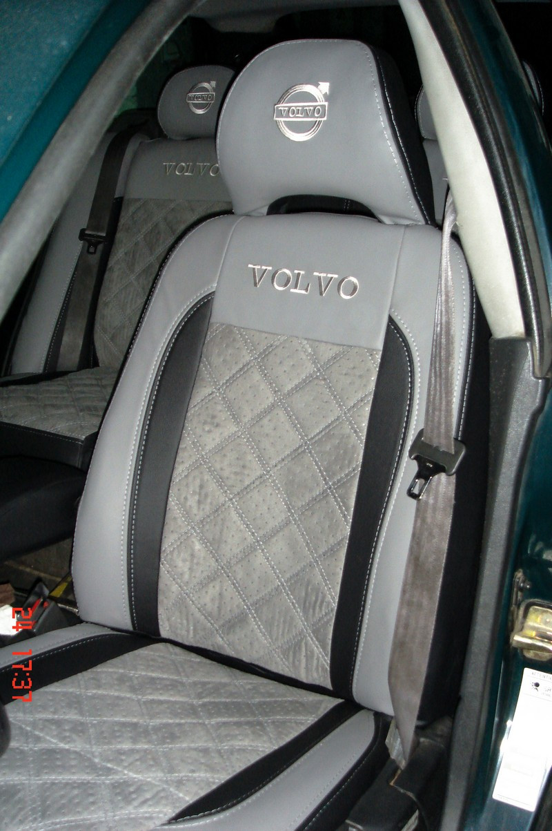 """Модельные чехлы Volvo V40 / Вольво В40 """"Алькантара"""", фото 1"""