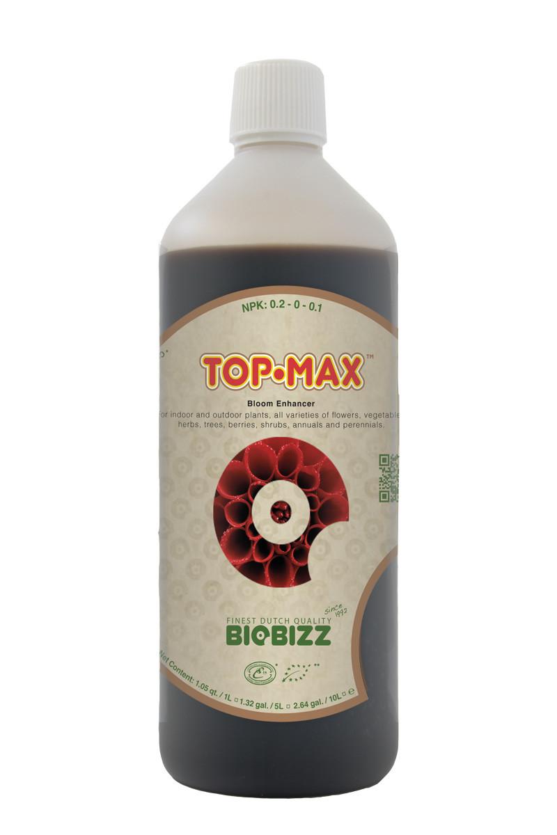 Органическое удобрение для гидропоники и органического выращивания BIOBIZZ Top-Max 1L