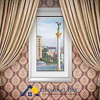 Глухое металлопластиковое окно Rehau