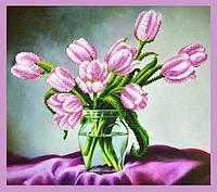 Набор для вышивания бисером «Тюльпаны»