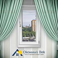 Одностворчатое металлопластиковое окно Rehau