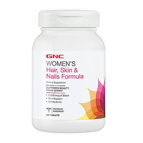 GNC Women's Hair, Skin & Nails Formula 120 caps