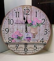 Часы в стиле Прованс 35см