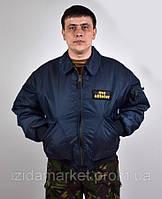Летная куртка синего цвета фирма МС