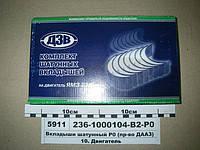 Вкладыши шатунные ЯМЗ 236-1000104 Р0 (пр-во ДЗВ)