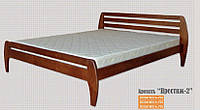 Кровать двухспальная деревянная Престиж 2 (Юта) 1800х1900(2000)