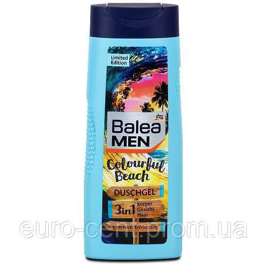 Гель для душа Balea Dusche Men 3in1 Duschgel Colourful Beach, 300 ml