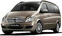 Защита заднего бампера Mercedes Vito II / Viano II (2010-2015)