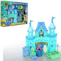 Замок для девочки Замок Frozen, муз, свет, мебель, фигурка, на бат-ке(табл), в кор-ке