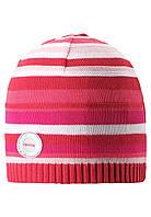 Демисезонная шапка для девочек Reima 528525 - 3360. Размеры 50-54.