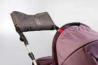 Муфта на коляску и санки 0315, с прихватками (в ассортименте), Baby Breeze