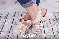 Силиконовые сандалии босоножки женские - Распродажа