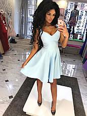 Платье клёш с глубоким  V-образным декольте, фото 2