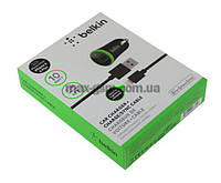 УЗУ Belkin iPhone 5 black (AЗУ USB, 2.1A, 10W/Data Cable)