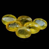 Натуральный Желтый Сапфир