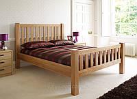 Кровать из массива натурального дерева Импала-Н . В отличии от кровати Impala имеет высокое изножье., фото 1