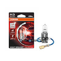 Лампы Osram H1 Night Breaker Unlimited 64151NBU