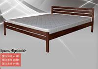 Кровать двухспальная деревянная Престиж (Юта) 1800х1900(2000)