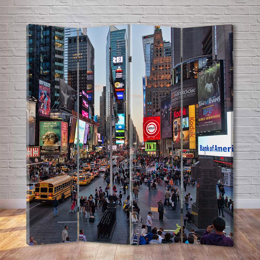 "Ширма ""Таймс-сквер. Нью Йорк"""