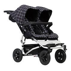 Детская прогулочная коляска для двойни Mountain Buggy Duet