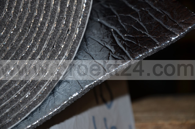 Вердани 5мм (тип АК) фольгированный самоклеющийся химически сшитый вспененный полиэтилен