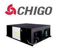 Приточно-вытяжная установка с рекуператором QR-X100DS Chigo, 10000 м.куб.
