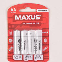 Батарейка солевая Maxus Zinc-Carbon R6-AA-C4
