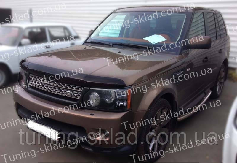 Дефлектор Рендж Ровер Спорт 1 (мухобойка на капот Range Rover Sport 1)