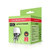Euroelectric 10А NEW уличный датчик освещения IP65