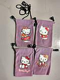 Чохол фланель Kitty для iPhone, Samsung, mp3, mp4, фото 2