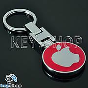 Металлический брелок для ключей APPLE