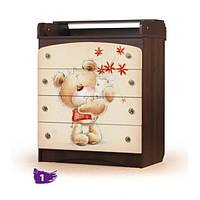 Комод Мишка с букетом Вальтер, фото 1