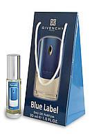 Мужской мини-парфюм Givenchy Blue Label в подарочной упаковке 30 мл