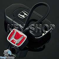 Металлический брелок для авто ключей HONDA (Хонда)