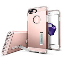 Чехол Spigen для iPhone 8 Plus / 7 Plus Tough Armor, Rose Gold, фото 1